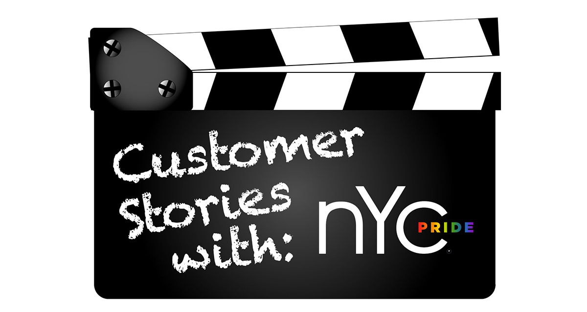 Customer Stories with NYC Pride