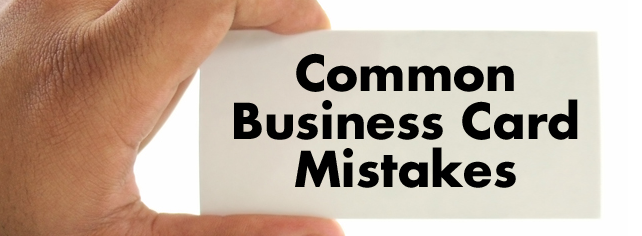 What your business card mistakes say about you postcardsrus reheart Choice Image