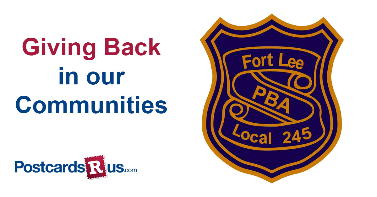 Giving back with Fort Lee PBA
