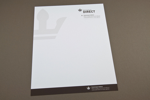 Letterhead Design For Corporate Print  Postcardsrus