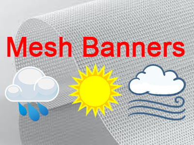 Mesh Banners Fear No Weather
