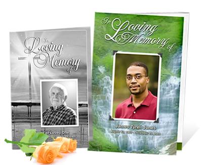 funeral program printing tips postcardsrus